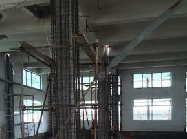 柱增大截面加固
